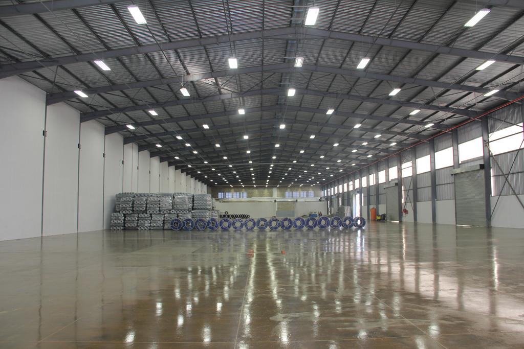 Tugela Steel - Building inside