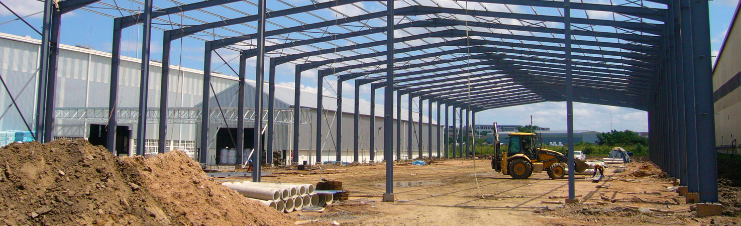 Steel Structure In Development